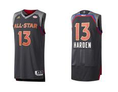 Camiseta Swingman Harden  13  All Star 2017 New Orleans. Fabricante  Adidas 255e49aa83d