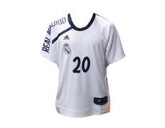 Cubre Camiseta Adidas Real Madrid Shooter Jersey Carroll  20  200bbffbfdf41