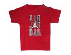 Jordan Air Reveal Tee Baby (Gym Red)