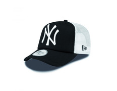 New Era NY Yankees Clean A Frame Trucker (black white) 23f25a73ae7