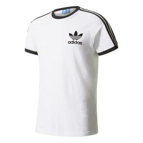adidas originals camiseta clfn logo blanconegro