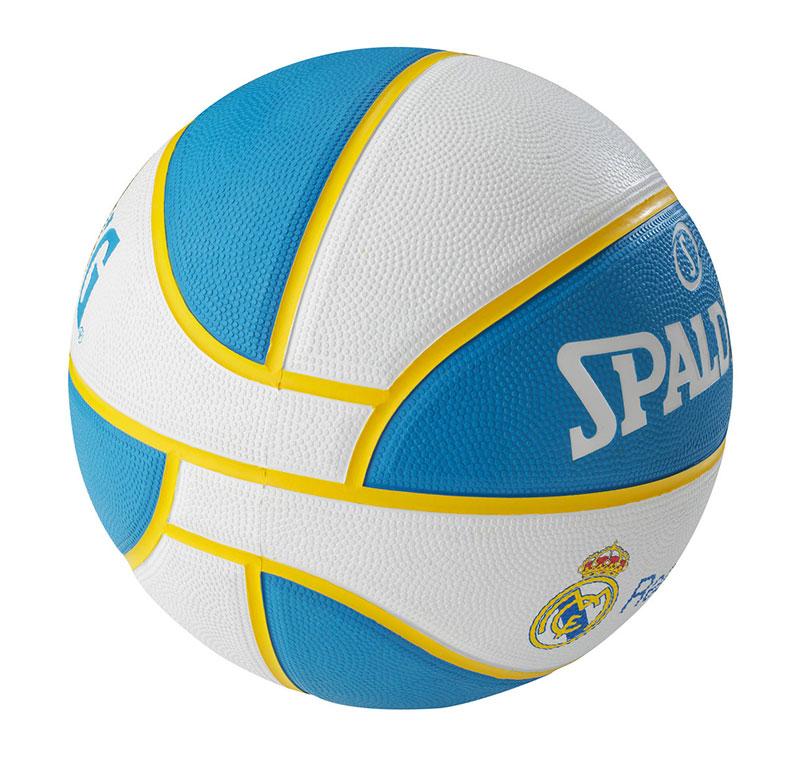 Balón Basket Spalding Real Madrid Euroliga a40087e57f0df