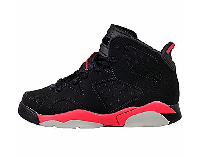 huge discount f71de 13144 Jordan 6 Retro BP Niño (023 negro rojo negro)