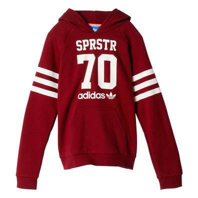 Originals Sudadera Adidas Junior Superstar granateblan College UdAwq