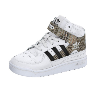 Adidas Originals Zapatillas Forum Mid Snake EL Infantil (blanco) dbb168fb1d965