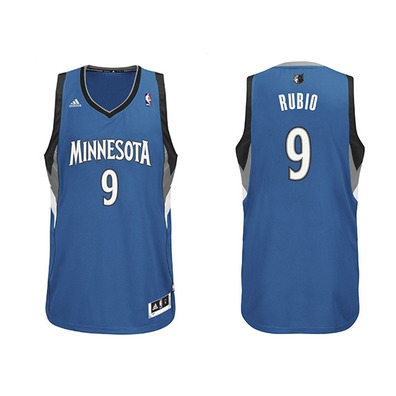 buy online 18e88 9d623 Minnesota azulblanco Camiseta Rubio Swingman Nba Adidas Ricky 1wxTpgXq
