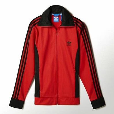 Originals Tt Adidas Europa Chaqueta rojonegro xTxBqXw