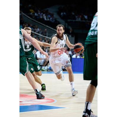 Camiseta Sergio Rodríguez Real Madrid Basket 2014 (blanca)