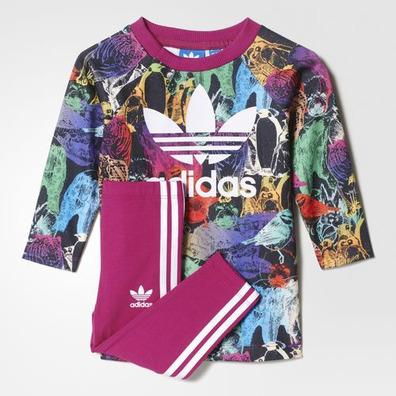 multicolorstrong Pinkwh Bebé Originals Conjunto Adidas Animal wXHaIzqn6