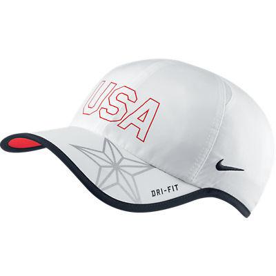 25458ac888e7f Gorra Nike USA Featherlight (100 blanco) - manelsanchez.com