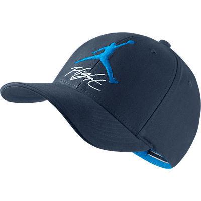Gorra Jordan Flight Stretch Hat (453 obsidian blanco azul) 7c1c673735d