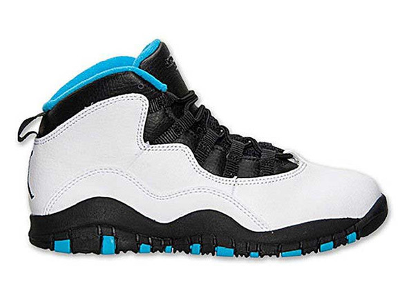 jordan 10 azul con blanco
