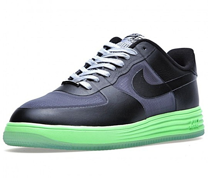 b43c080b29 discount nike lunar force 1 fuse leather 002 negro lima gris f13de 9e6c7