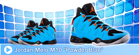 Jordan Melo M10 - Powder Blue