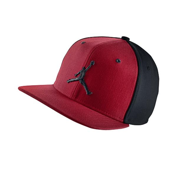 5bace10bdddc Gorra Jordan Jumpman (695/rojo/negro)