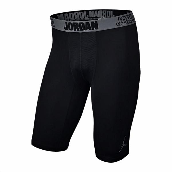 best service 1d3da ac4c9 Jordan Short 23 cm AJ All Season Compression (010 negro grisazulado)
