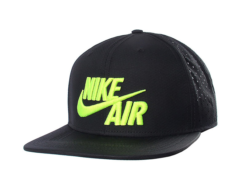 f461e77952e0b Gorra Nike Air Pro Perf (010 negro blue volt)