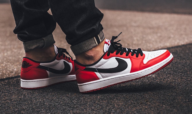 air jordan 1 low rojas
