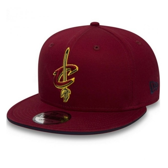 New Era Cleveland Cavaliers Team Snapback 9FIFTY cc6c87ded09