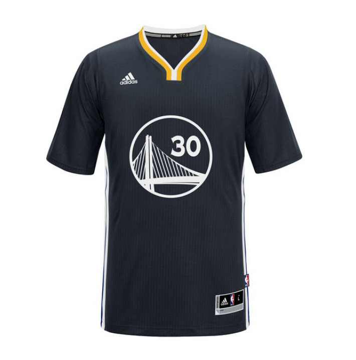 Camiseta Adidas NBA Swingman Stephen Curry #30# Warriors (azulamarillo)