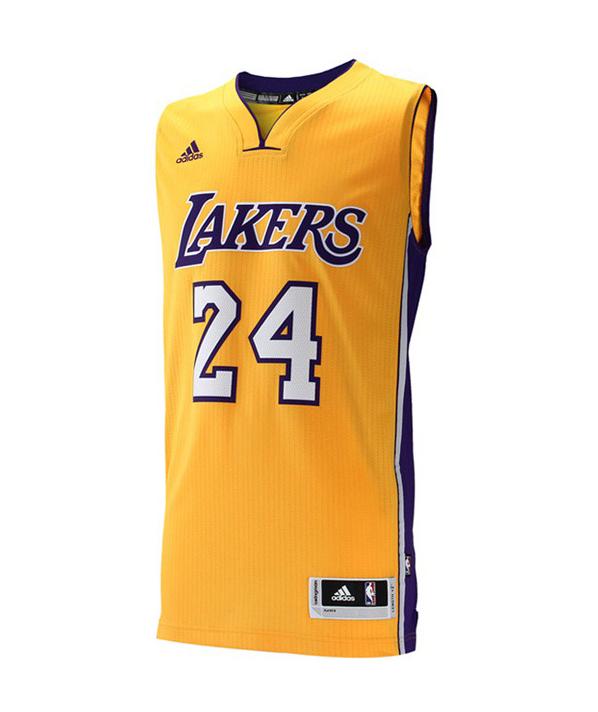 Camiseta Swingman Adidas NBA Kobe Bryant  24  Lakers 0c3fd2376a42a