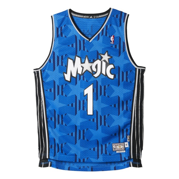 Adidas Camiseta Swingman Tracy McGrady Orlando Magic (azul/negro