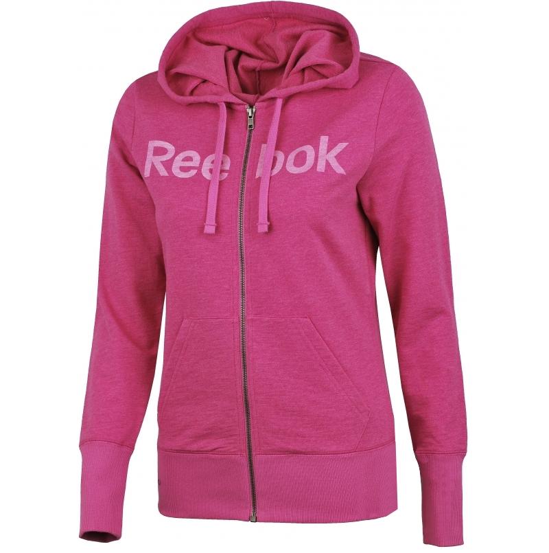 gran descuento 9ab77 38402 Reebok Sudadera Mujer Elements Logo FZ (violeta)