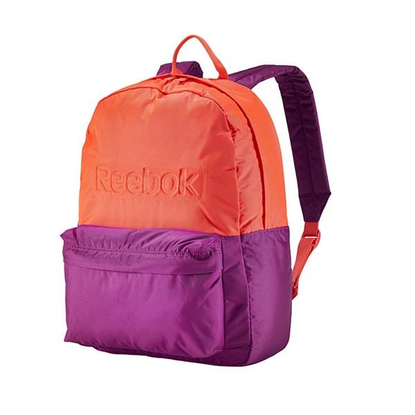 Lifestyle Mochila Lifestyle Reebok Backpacknaranjamorado Mochila Essentials Reebok cRLq3A54j