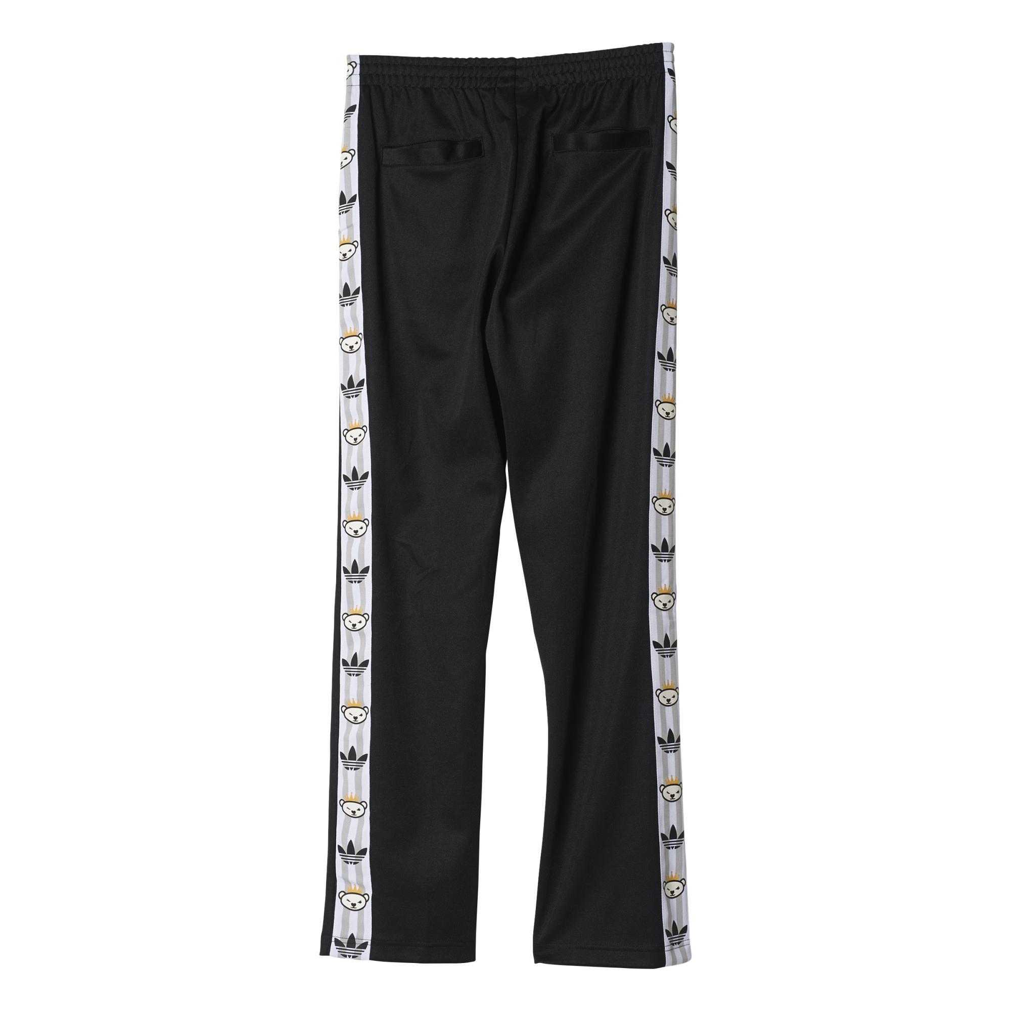 By Adidas Retro negro Pantalón Bear Originals Nigo qr6Inrgpx