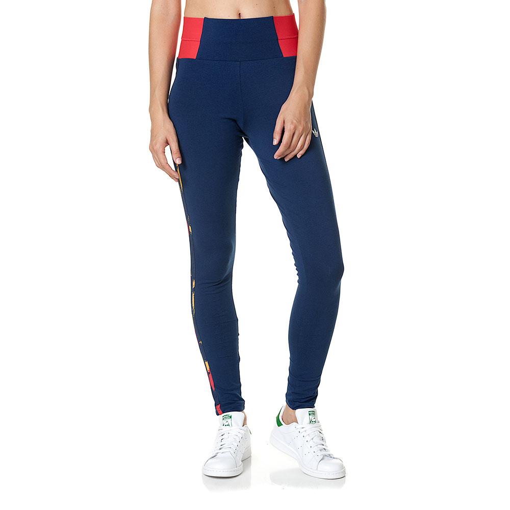outlet store 240ac 5e1e4 Adidas Originals Mujer Leggings Paris High-Waist (marino)