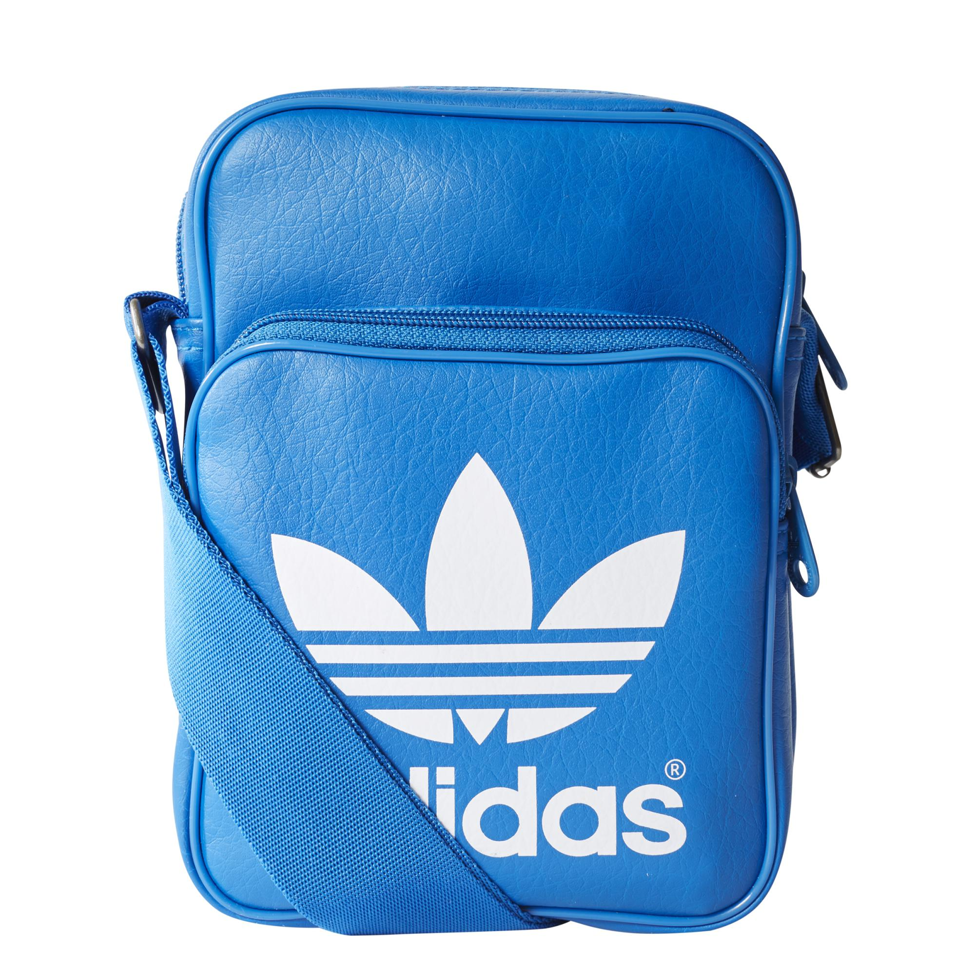 51635cf224f Adidas Originals Bolso Mini Classic (royal blanco)