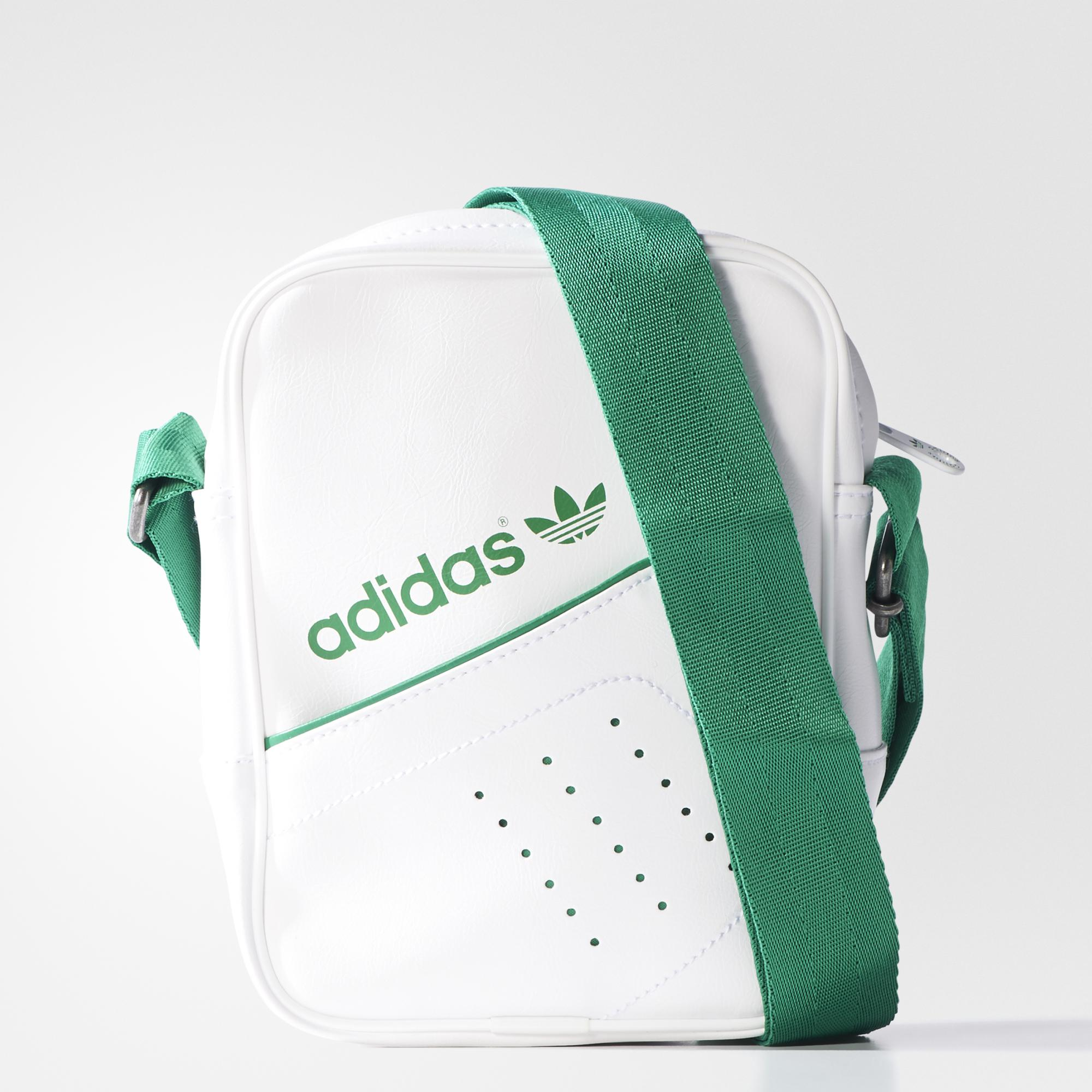 28df2eb780 Adidas Originals Mini Bag Perforated (blanco verde)