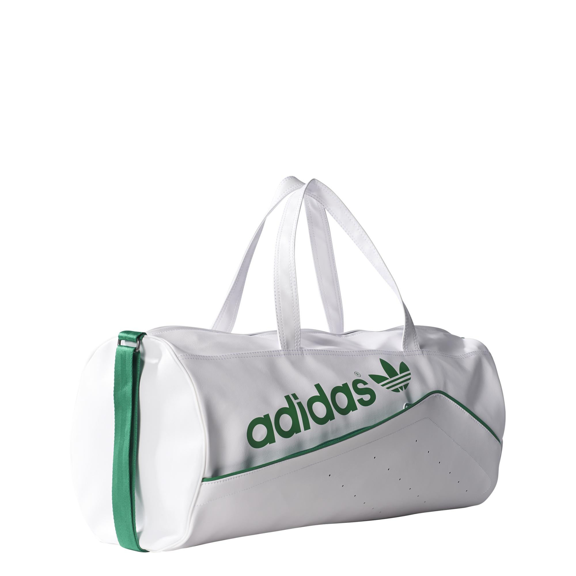 Duffel Perforated Adidas Bolso Originals blancoverde ARqy7Pw