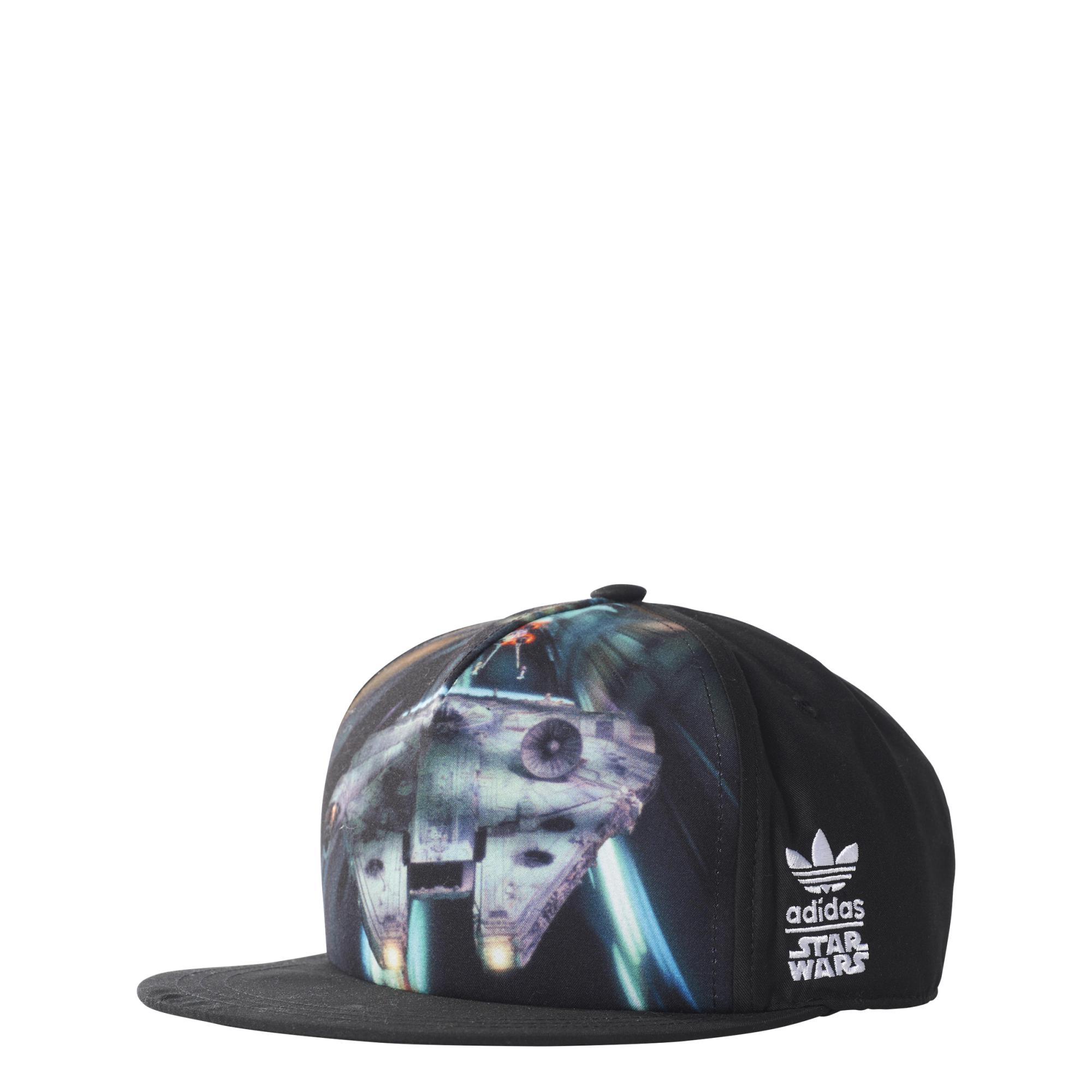 Adidas Originals Junior Gorra Star Wars Millennium Falcon (negro) b78853cf6d2