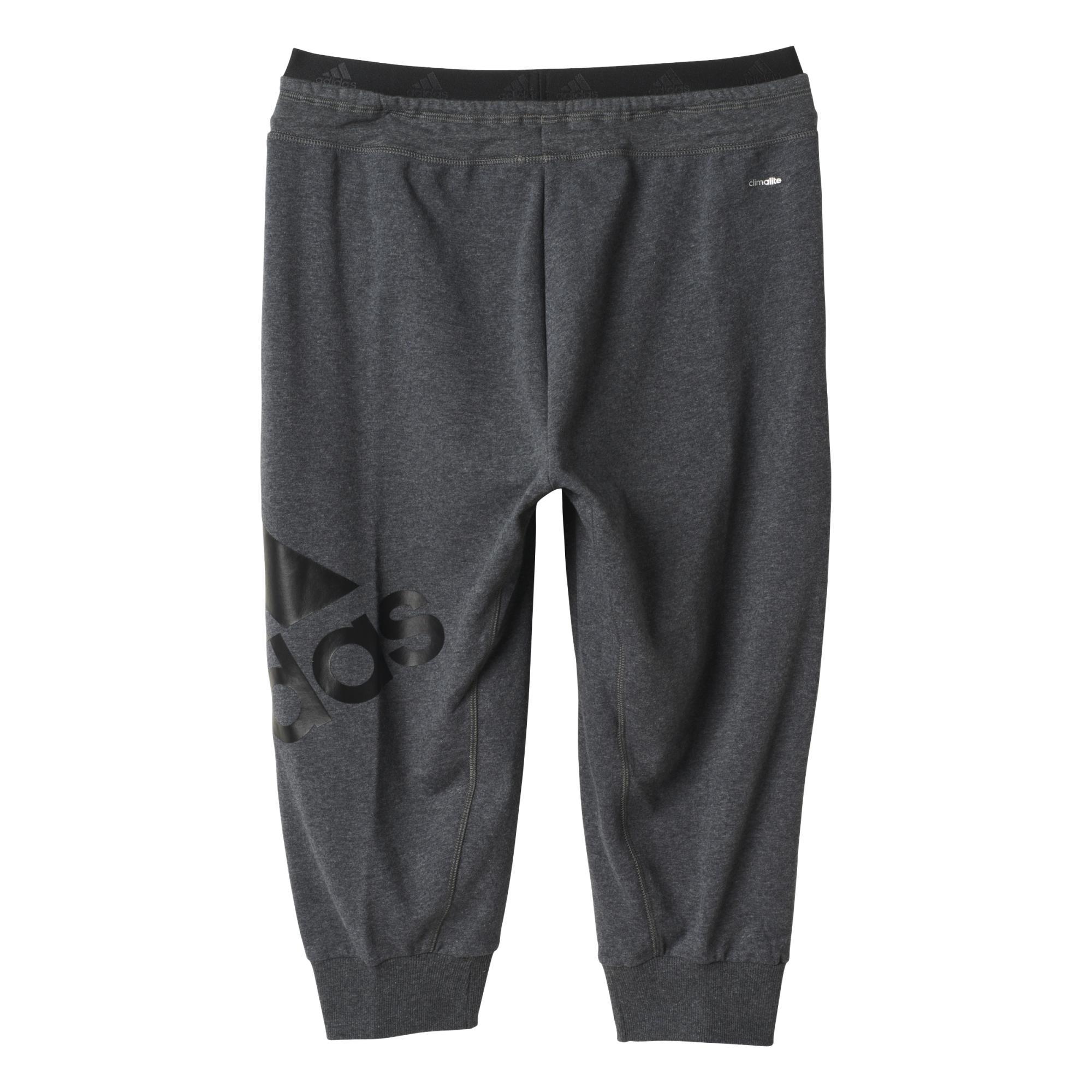 conseguir barato fotos oficiales 50% rebajado Adidas Mujer Pantalón 3/4 Sport Essentials Logo (gris)