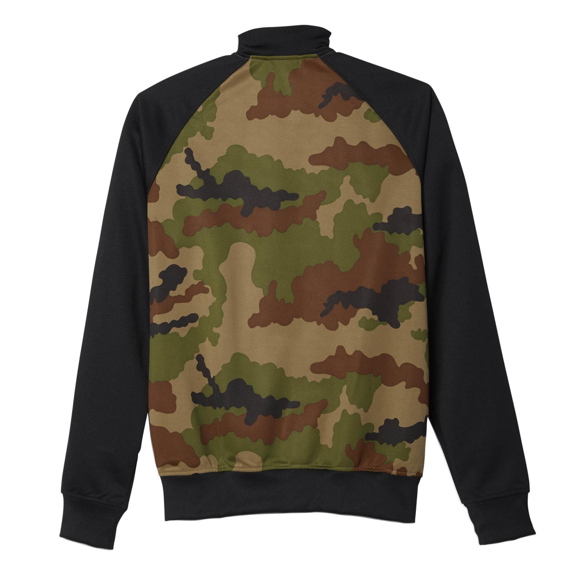 chaqueta camuflaje hombre adidas