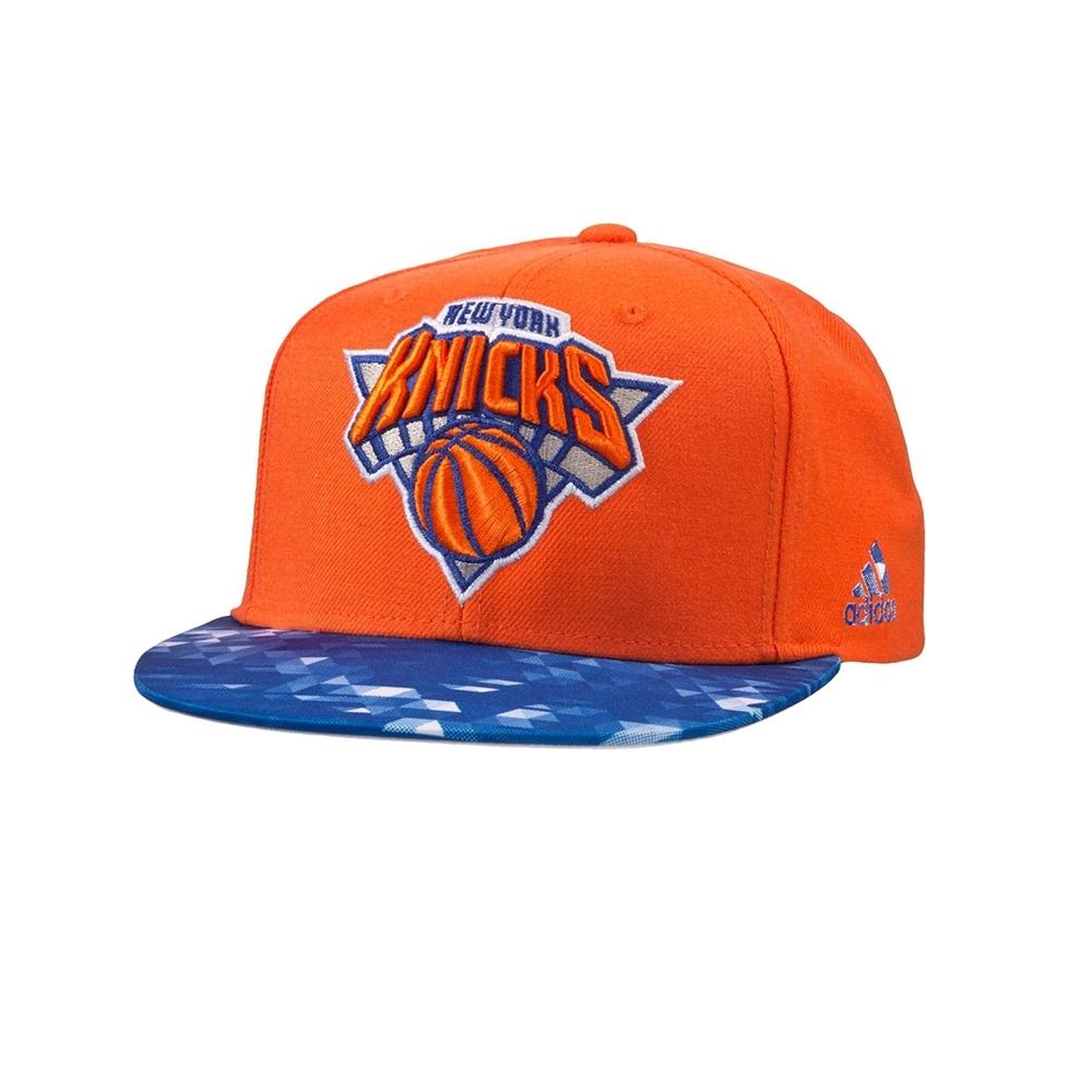 Adidas NBA Gorra New York Knicks Winter Hoops (naranja azul) a62cac9f354