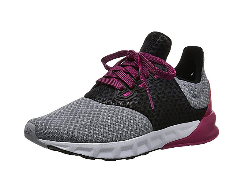 new products 5e011 bc02d Adidas Falcon Elite W (gris negro rosa)