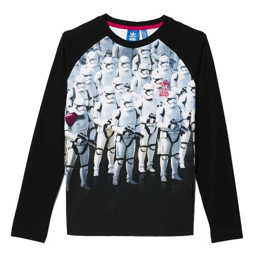 camiseta star wars adidas