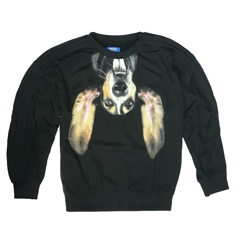 official photos ec517 d4d75 Adidas Originals Mujer Sweater Puppy Pooch Rita Ora (negro)