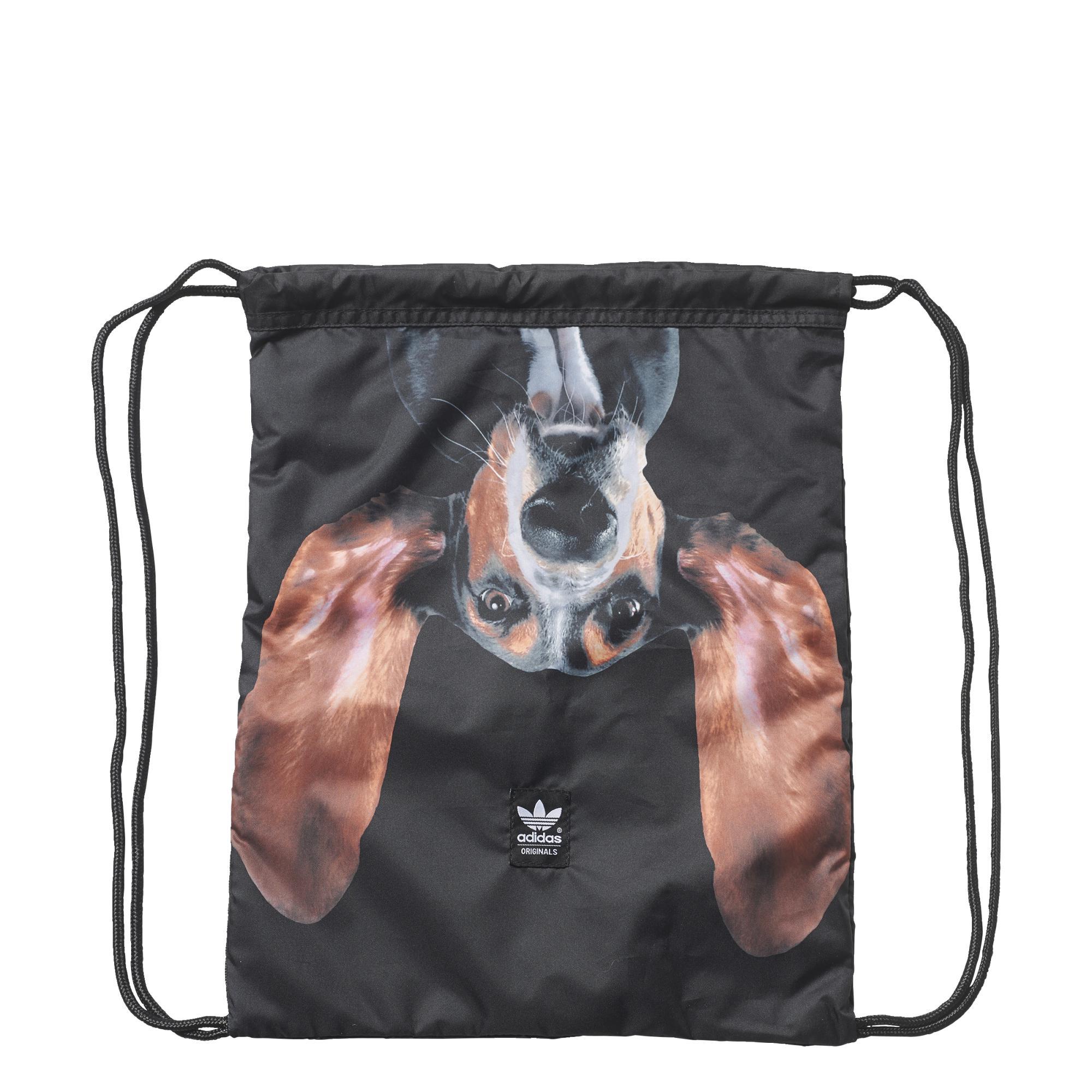 low cost 58de5 354df Adidas Originals GymSack Puppy Pooch Rita Ora (negro)