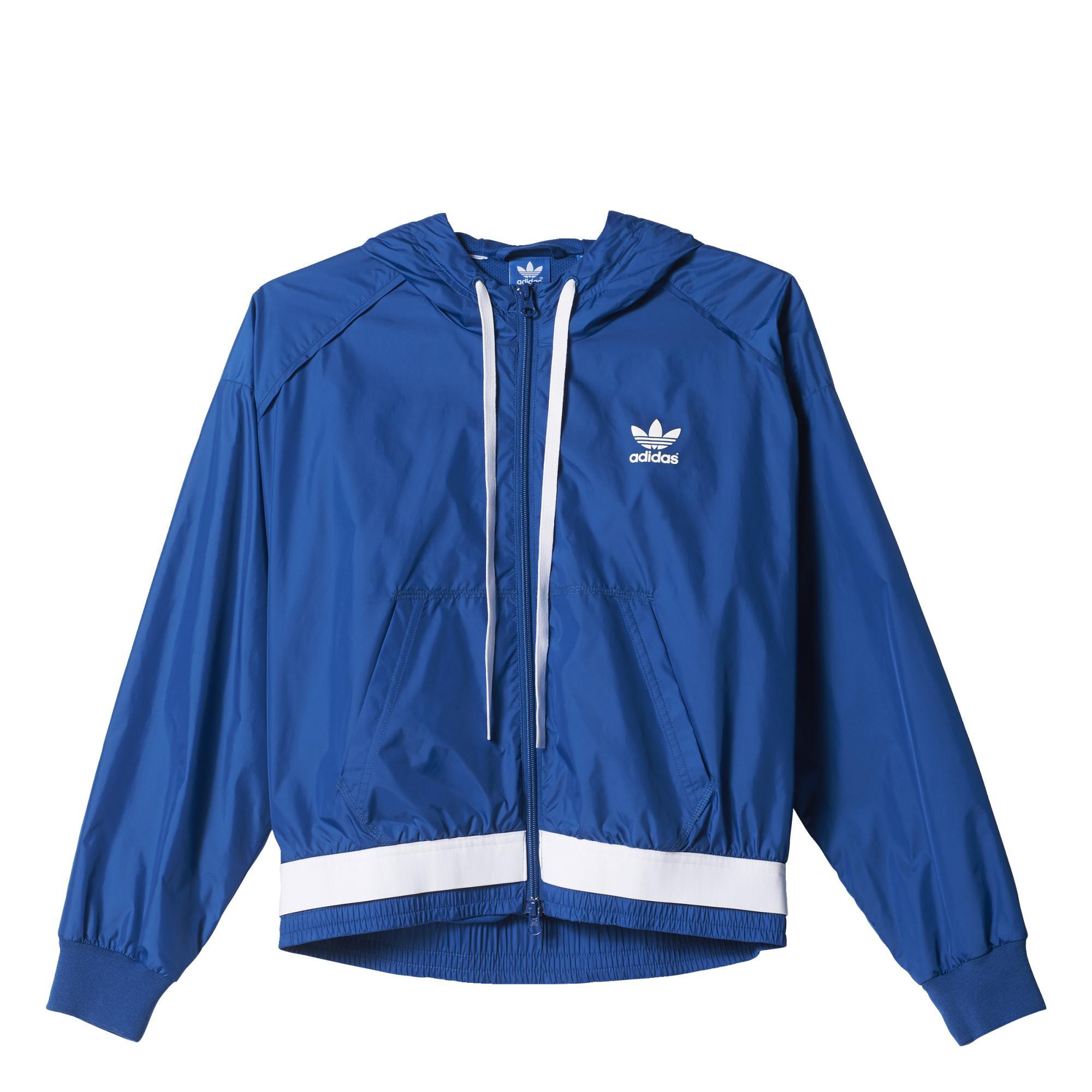f1e25f571f Adidas Originals Mujer Running Winbreaker (azul)