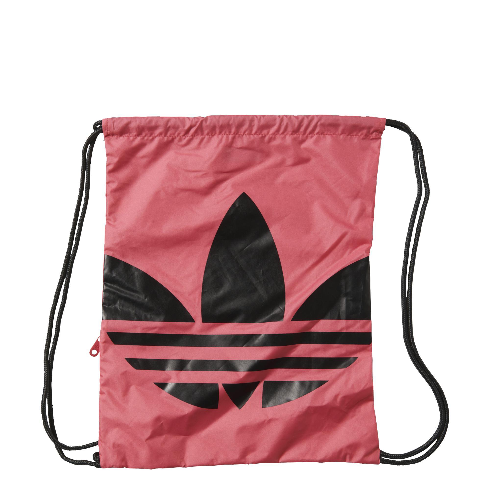 Adidas Originals Gym Sack Trefoil (rosa negro). Oferta 15% 026ad43cf6f8c