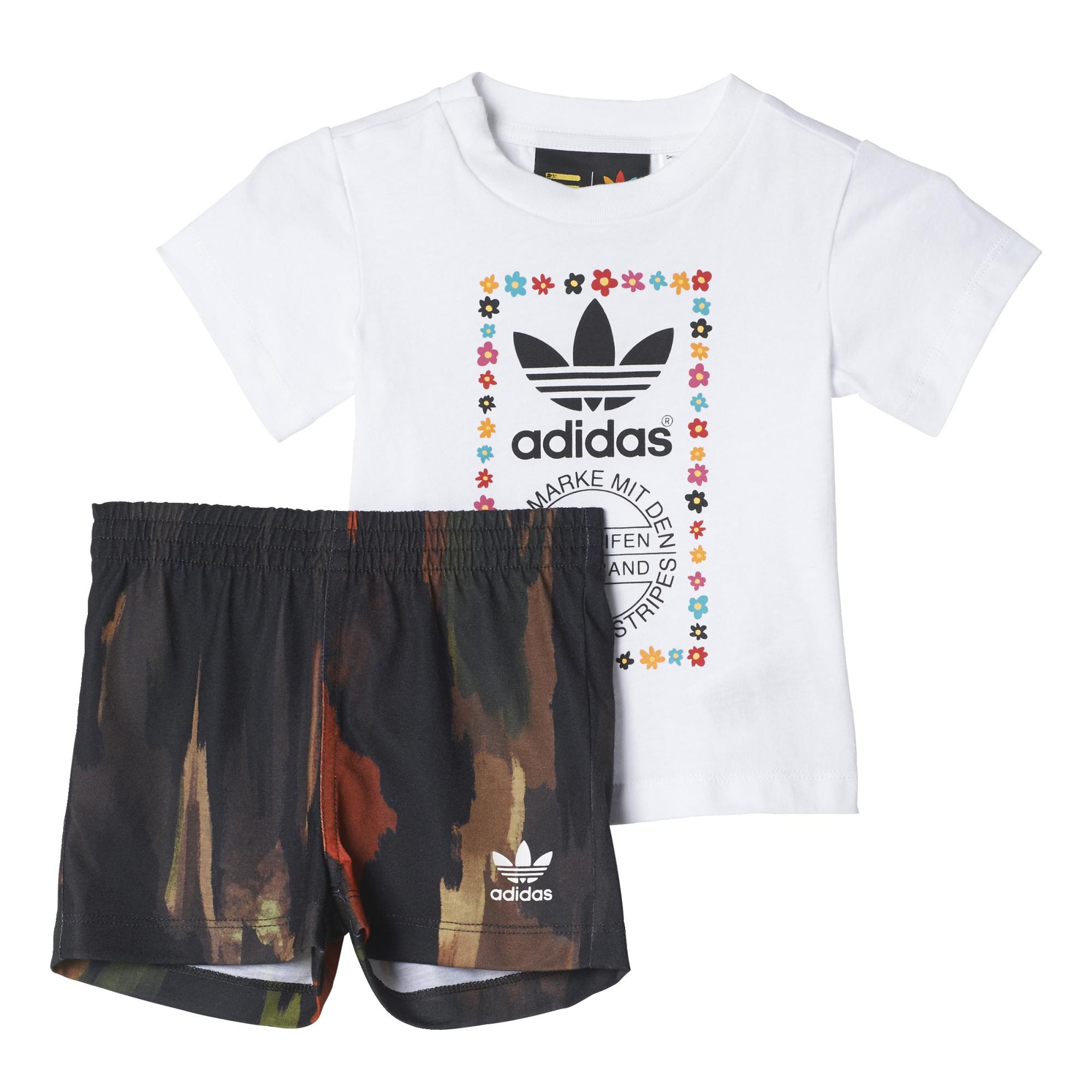 pas mal 2c647 c7747 Adidas Originals Conjunto Infantil Pharrell Williams (blanco/multicolor)