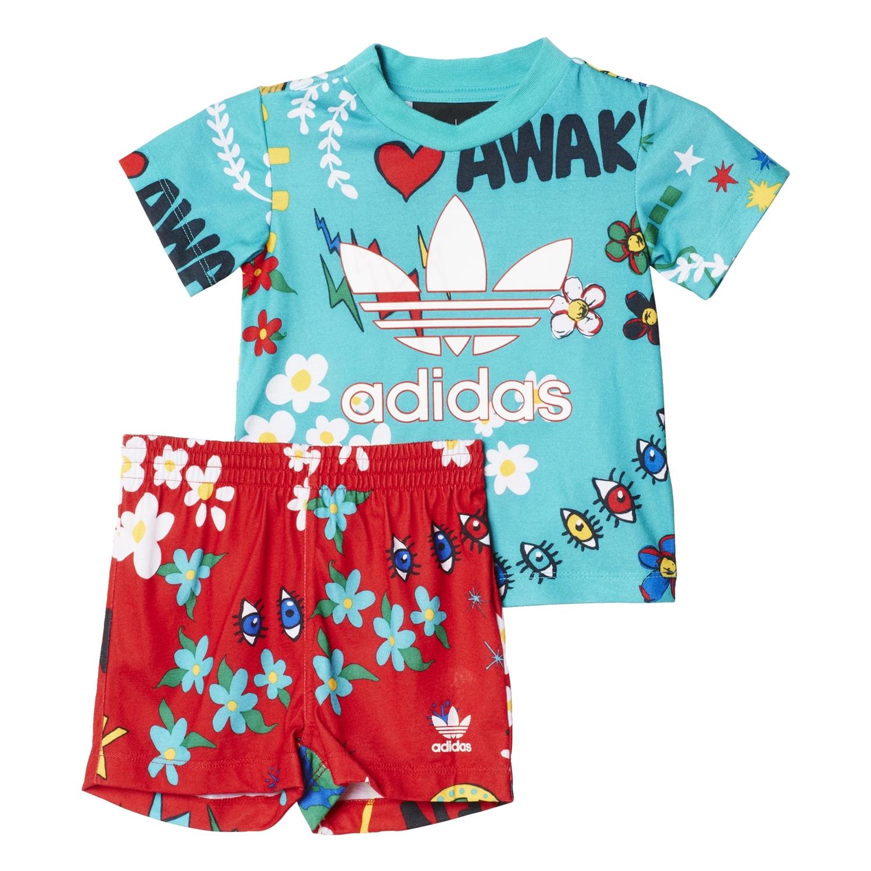 chaussures de sport 8e94e 3f030 Adidas Originals Conjunto Infantil Pharrell Williams (multicolor