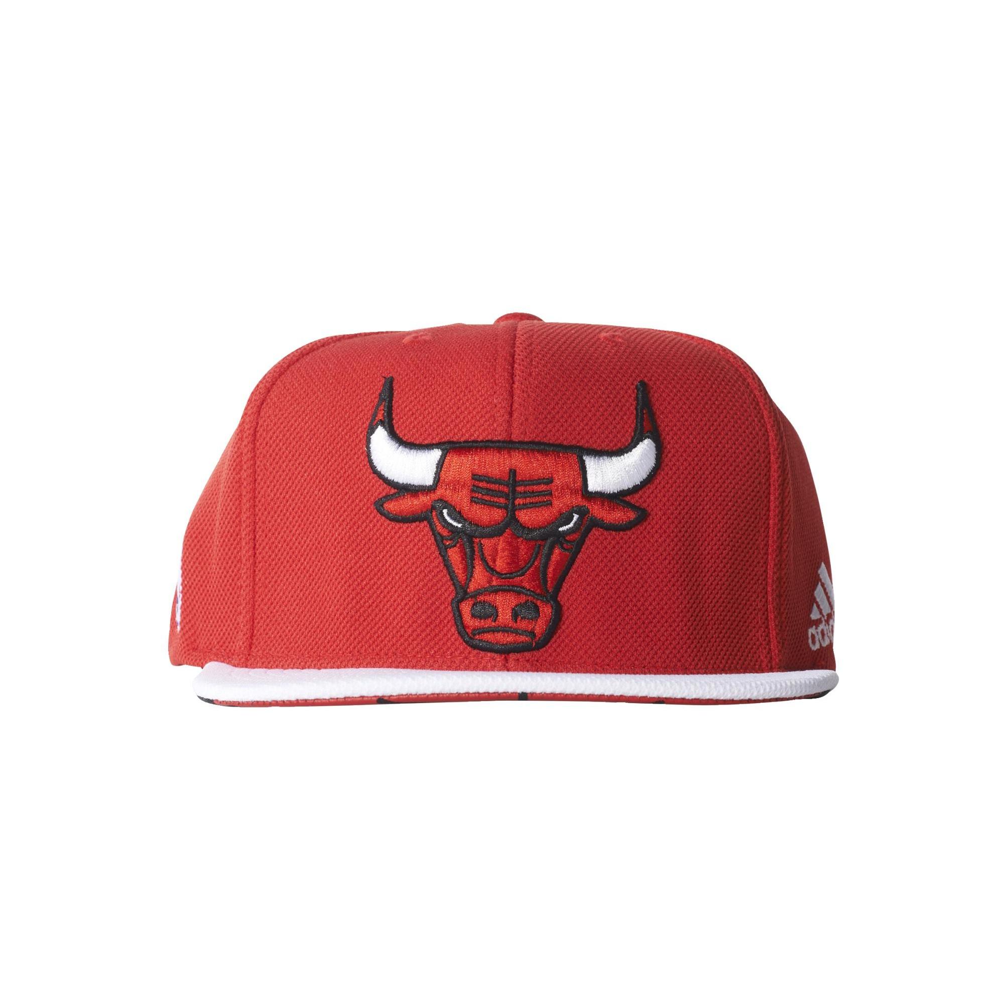 Adidas NBA Gorra Flat Cap Bulls (rojo blanco) 2d8965035bf