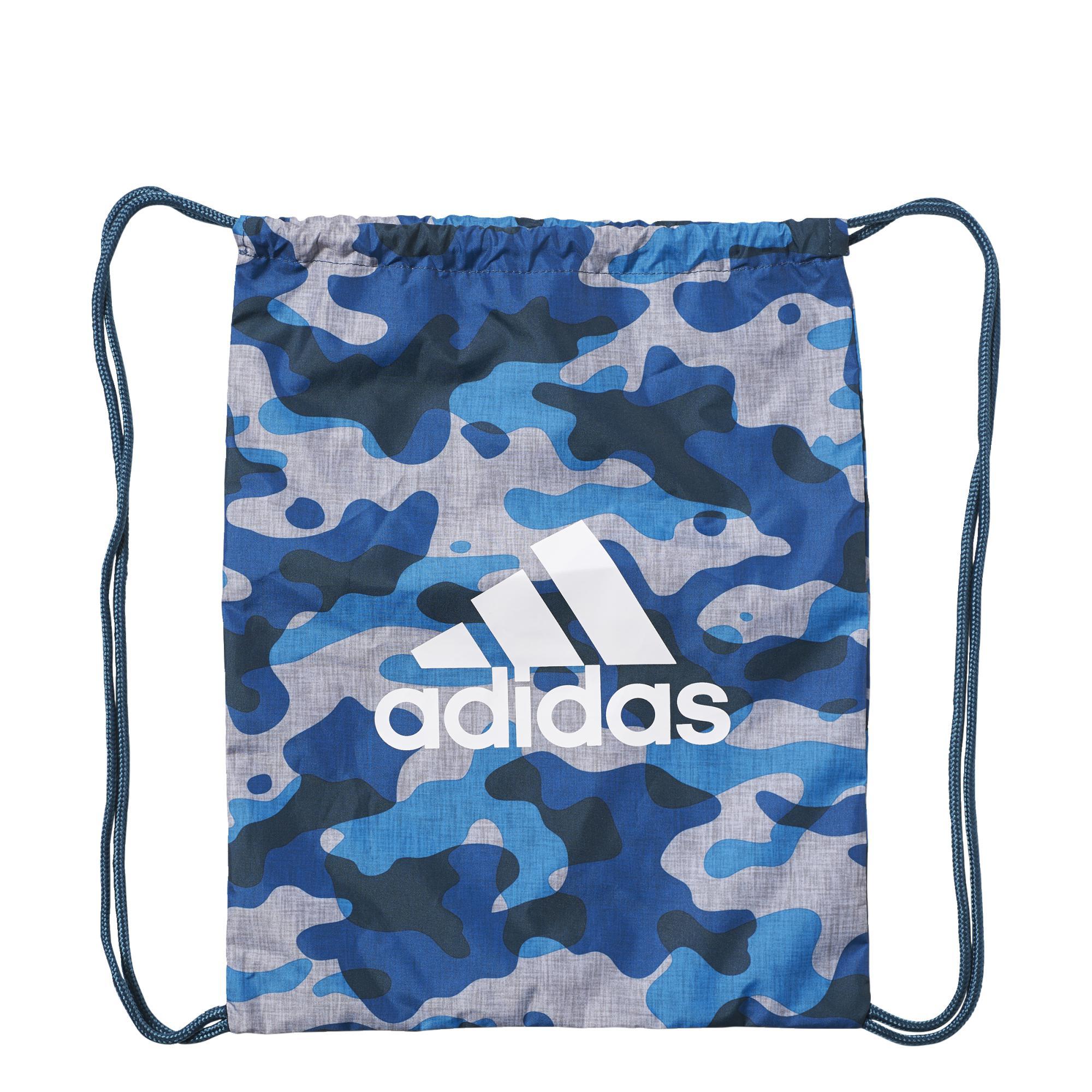 f6bd0df61433 Adidas Camo Gym Bag Training (azul gris blanco). Oferta 17%
