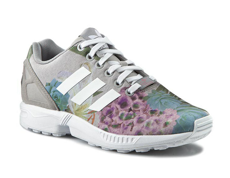 adidas zx flux mujer gris
