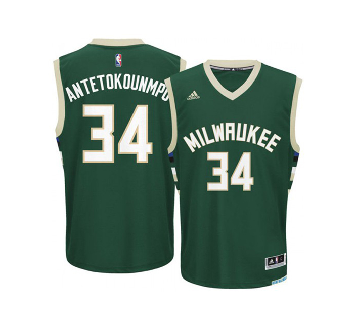 descuento de venta caliente bueno la mejor calidad para Replica Jersey Antetokounmpo #34# Bucks - manelsanchez.com