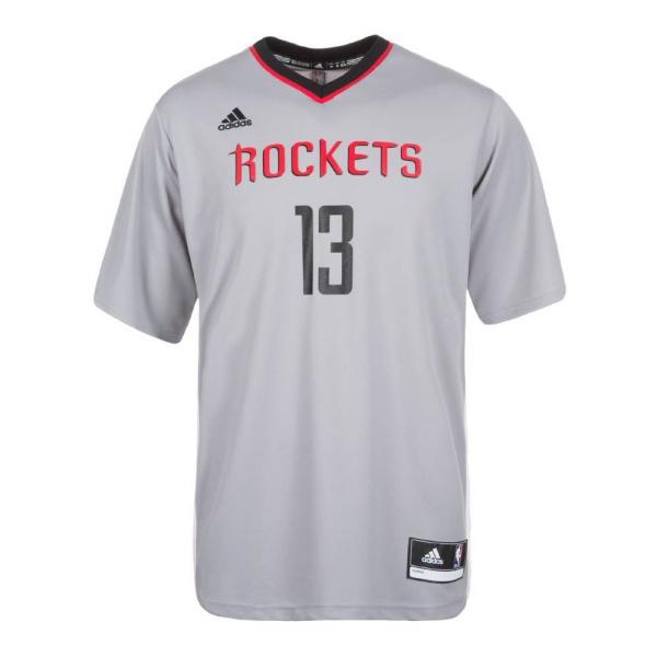 Adidas Camiseta Réplica James Harden Rockets (gris negro rojo) eb660b7c33a